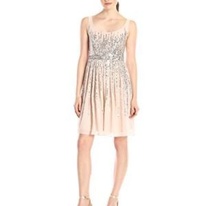 Adrianna Papell Sequined Formal Dress